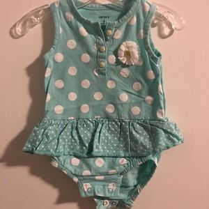 6m Carter's summer romper/sundress